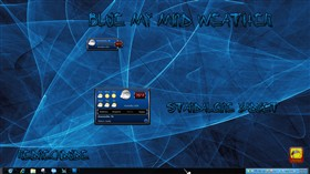 Blue My Mind Weather Gadget
