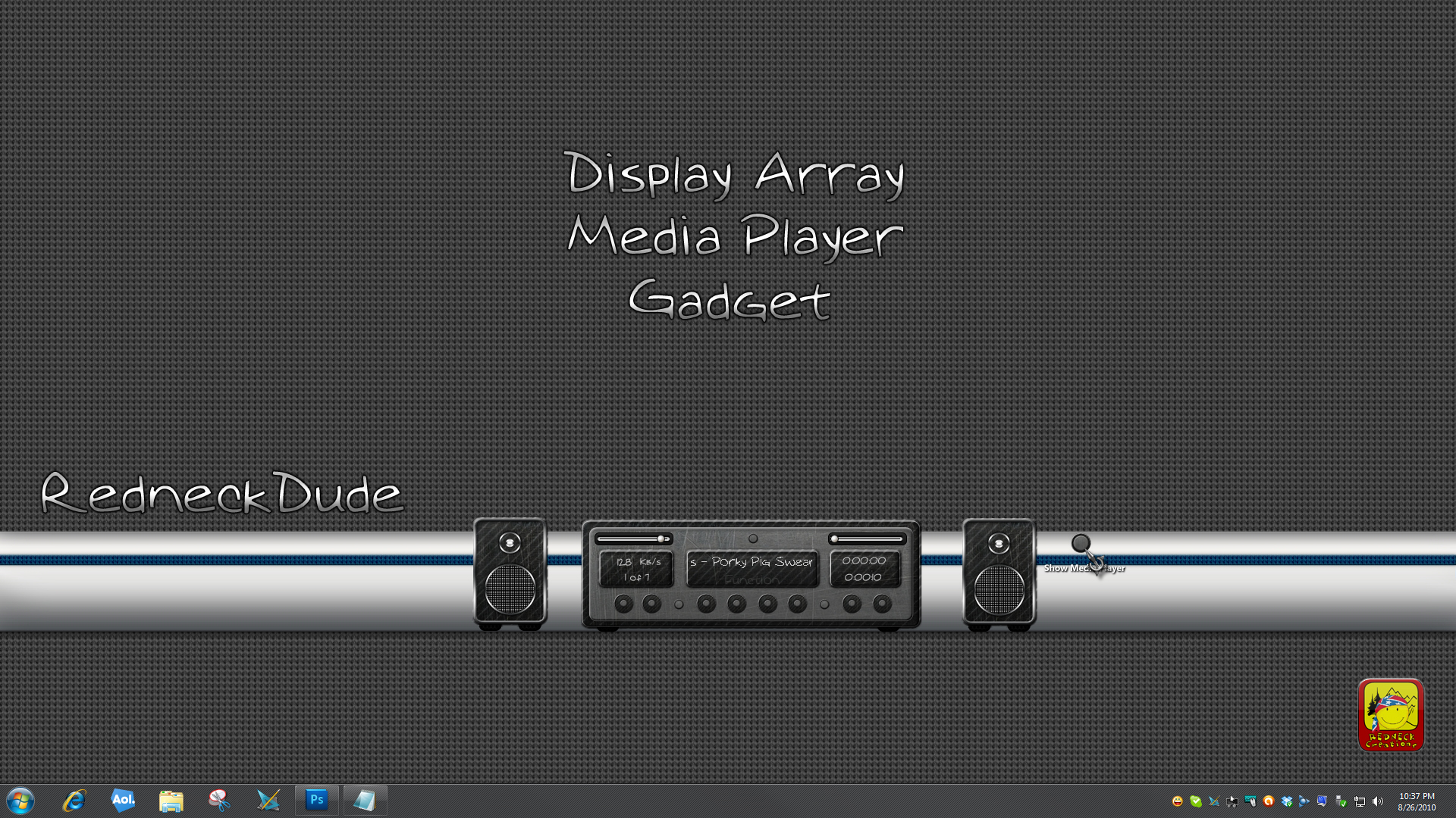 Display Array Media Player Gadget