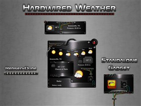 Hardwired Weather Gadget