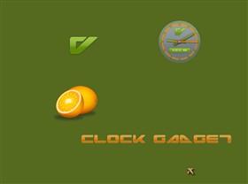 V Clock Gadget