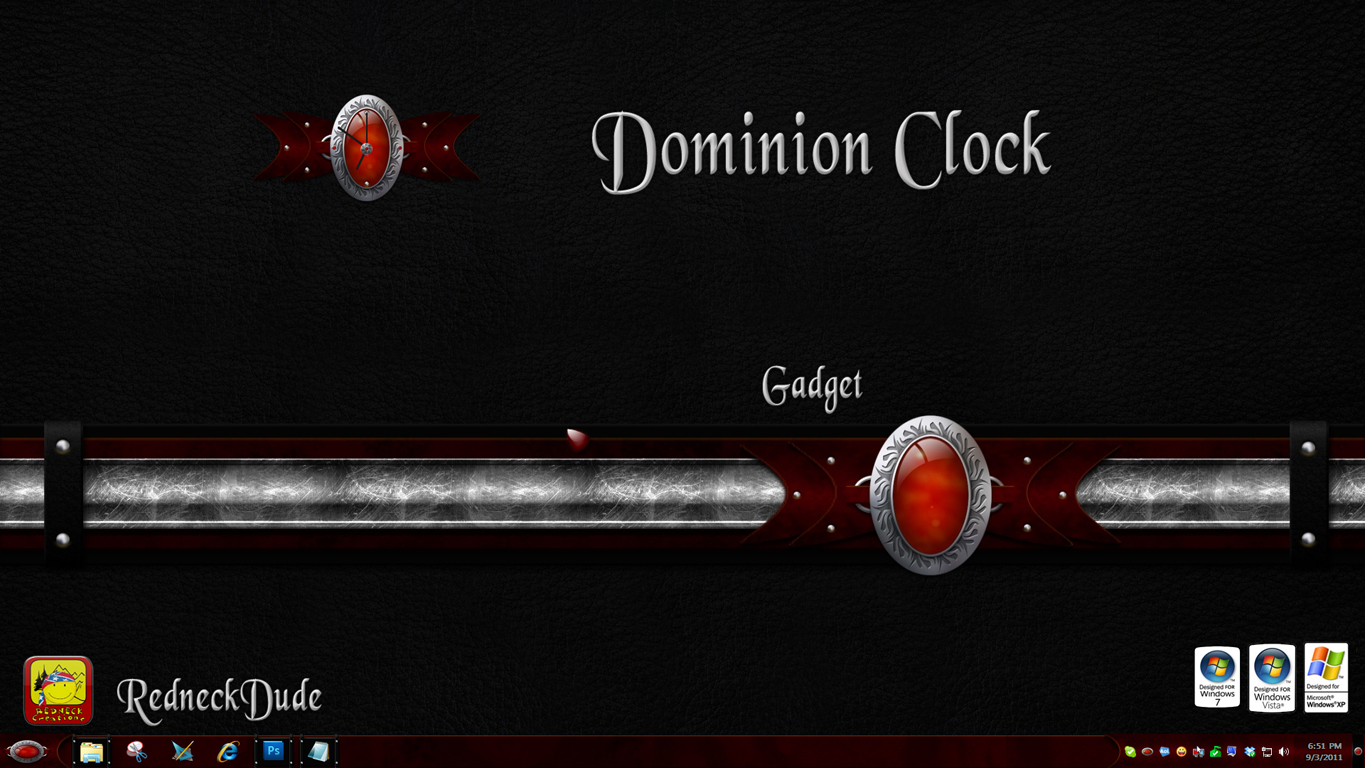 Dominion Clock Gadget
