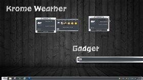 Krome Weather Gadget