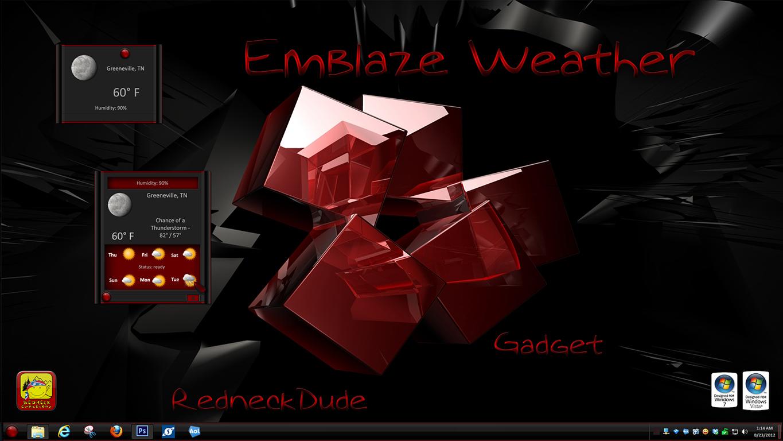 Emblaze Weather Gadget
