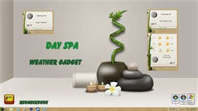 Day Spa Weather Gadget