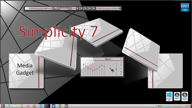 Simplicity Media Gadget