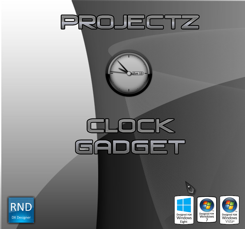 ProjectZ Clock Gadget