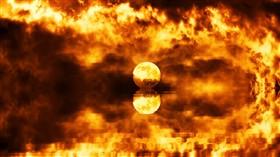 Flaming Ocean