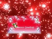 Snowflake Greeting