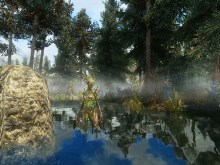 Skyrim Swamp Creature