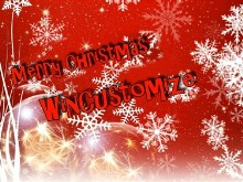 Merry Christmas WinCustomize