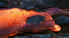 Lava Flowing Logon