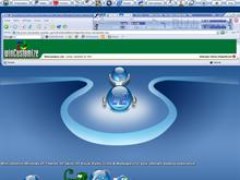 Deluxe Blue-Corona Sysm&#233;trix screenshot
