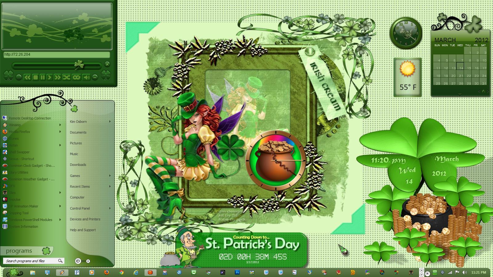 St. Pats Irish Cream