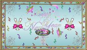 Pastel New Year