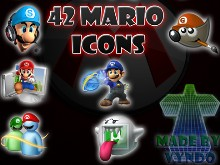 42 Mario icons