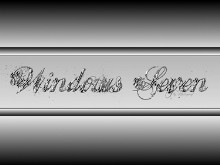 Windows Seven-simple silver