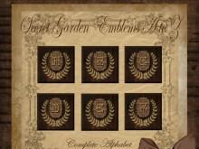 Secret Garden Alphabet