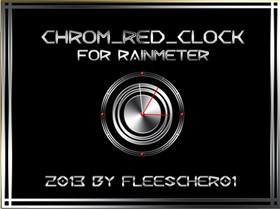 Chrom_Red_RM_Clock