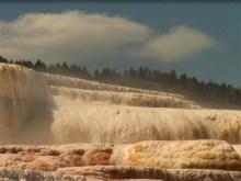 yellow rock falls