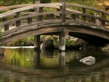 bridge over calm waters