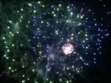dazzaling fireworks