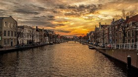 Amsterdam Canal Scenery