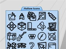 Hollow Icons 2