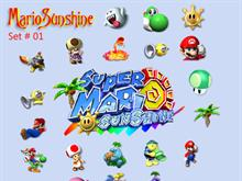 Mario Sunshine Set 01