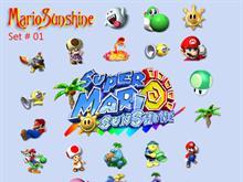 Mario Sunshine Set 01