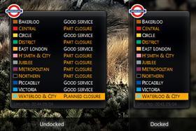 London Underground Live Travelnews