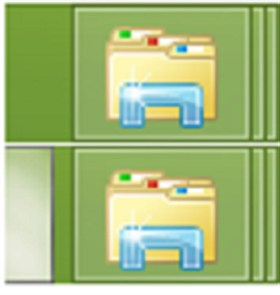 symmetrical icon Windows 8