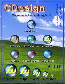 Macromedia Icons Library