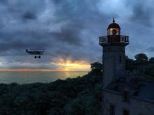Les Moutons Lighthouse 1916