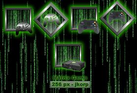 Matrix Game Icons