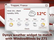 Dynyx Weather Widget
