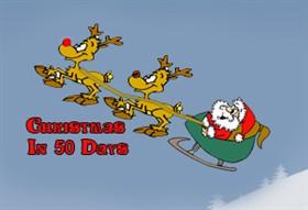 Santa Sleigh Countdown