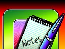 Funky Note Pad