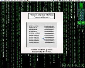 Matrix Computer Interface