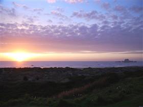 Sunset on Bandon beach