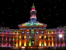 Denver City Bldg Christmas LV