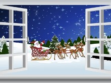 Christmas Santas Coming