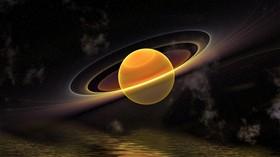 Saturn 3D Render