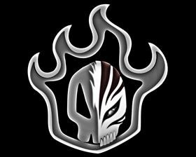 Bleach Flaming Skull Logo