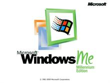 Windows ME bootscreen