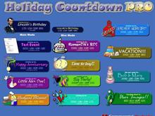 Holiday Countdown PRO