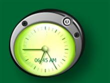 GreenEye_Clock