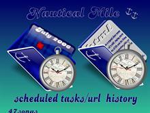 Nautcial Mile scheduled tasks_uRL history