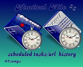 Nautcial Mile scheduled tasks_uRL history
