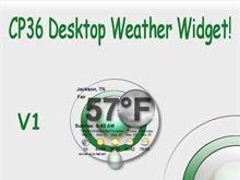 CP36 Weather Widget