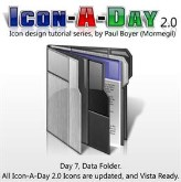 Icon-A-Day 2.0, Day 7, Data Folder.